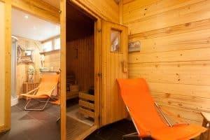 sauna hotel la roseraie villard de lans